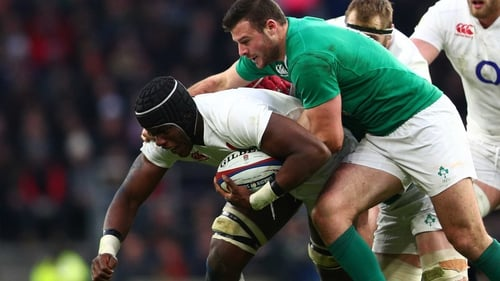 Maro Itoje looks set to line out for England against the Aussies