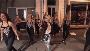 Saoirse Ronan joins the Irish dancers in Ed Sheeran's Galway Girl video