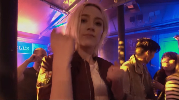 Saoirse Ronan leads Irish stars in Ed Sheeran's Galway Girl video