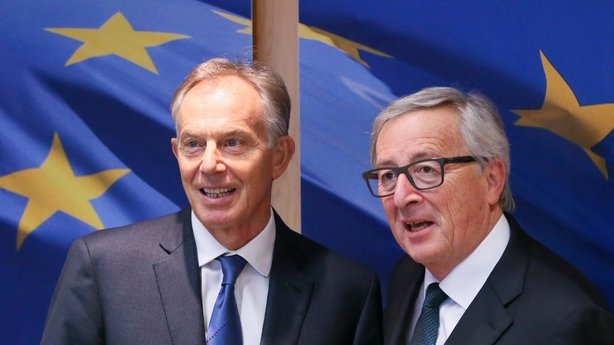 Tony Blair Jean-Claude Juncker
