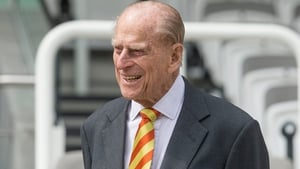 Prince Philip seen during a visit to Lord's cricket ground in London on 3 May