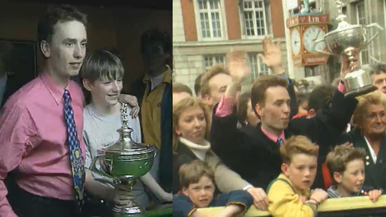 Ken Doherty World Snooker Champion (1997)