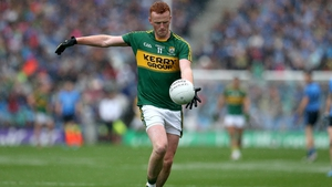 Johnny Buckley made his Kerry debut in 2012