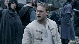 Charlie Hunnam in King Arthur. Don't expect to see a sequel