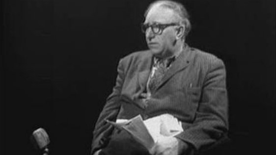 Patrick Kavanagh in 'Self Portrait' broadcast on 30 October 1962.