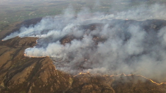 Creed warns land owners about setting fire to gorse  vegetation