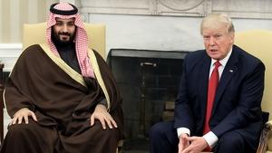 Saudi Arabia's powerful Deputy Crown Prince Mohammed bin Salman met Donald Trump in Washington in March