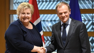 Donald Tusk was speaking following a meeting with Norwegian Prime Minister Erna Solberg