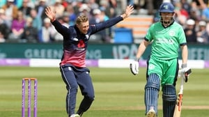 Ireland were bowled out in 33 overs