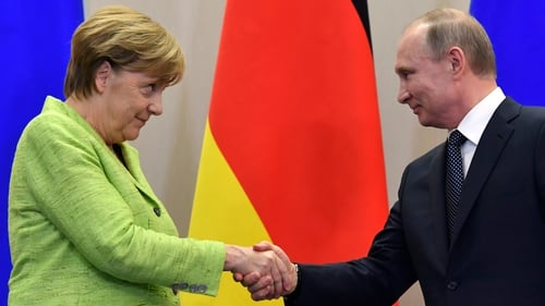 Angela Merkel raised the issue earlier this week when she met Vladimir Putin
