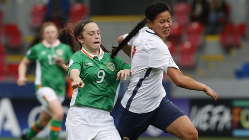 Alannah McEvoy came closest for Ireland