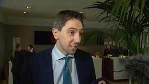 Simon Harris was speaking at the INMO annual conference in Wexford
