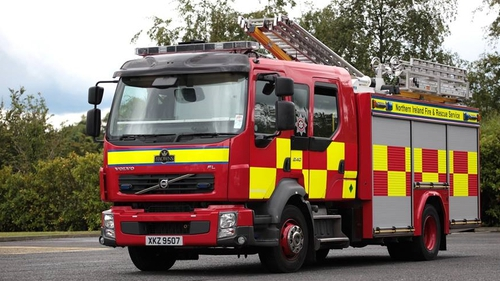 Almost 50 firefighters trying to extinguish huge gorse fire in Co Tyrone