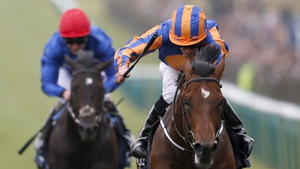 Ryan Moore on Churchill (R) were impressive in landing the season's first classic
