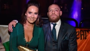 Conor McGregor with his girlfriend Dee Devlin