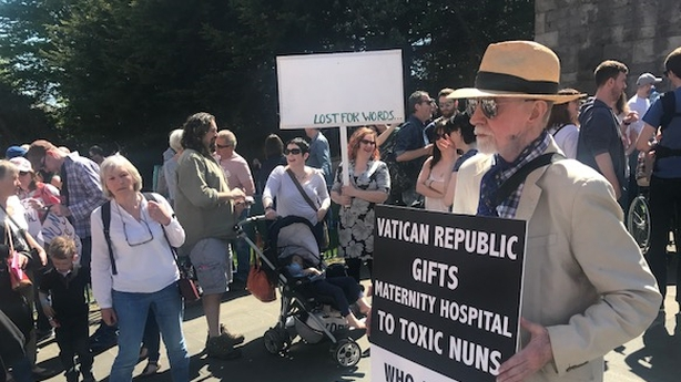 Big Crowds Attend Dublin Maternity Hospital Rally
