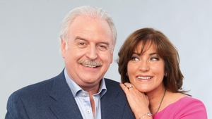 In the week of the Eurovision Song Contest, Donal O'Donoghue catches up with host Marty Whelan, his wife, Maria, and their bowler, Alfie.