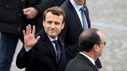 Macron inauguration next Sunday