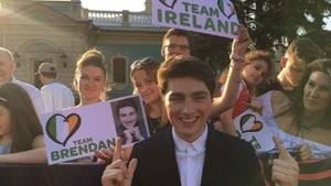Team Brendan were out in force in Kyiv yesterday