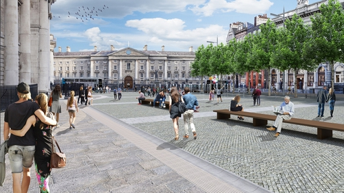An Bord Pleanála has directed a further period of public consultation over the planned pedestrian plaza at Dublin's College Green