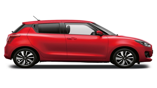 The new Suzuki Swift, which goes on sale next month.