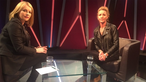 Claire Byrne Live: Lisa Finnegan Interview