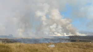 Blaze had been contained to two areas earlier