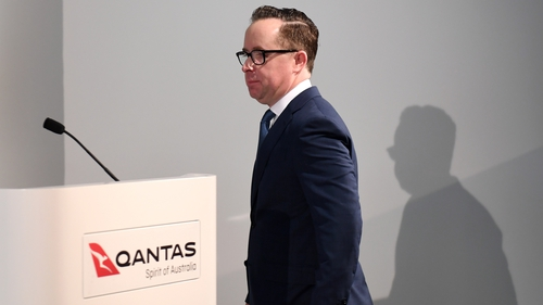 Qantas CEO Alan Joyce said the Airbus A350 is 'a fantastic aircraft'