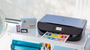 HP said that sales from its printer division fell 6% to $4.98 billion