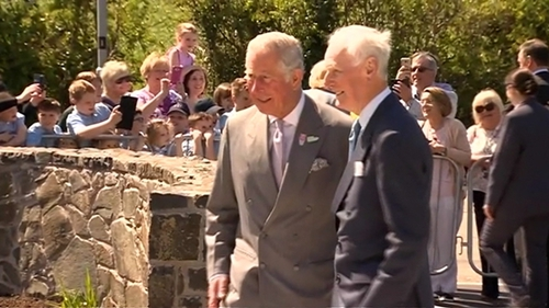 Prince Charles and Duchess of Cornwall visit Derry's Altnagelvin Hospital