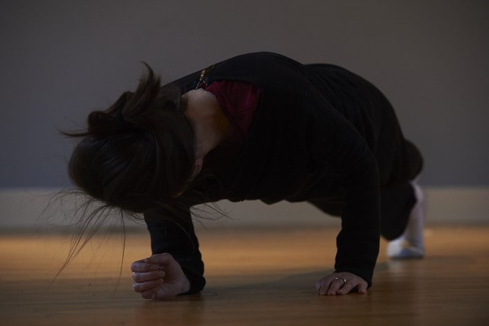 Mary Nunan, dancer in residence at Bealtaine 2017