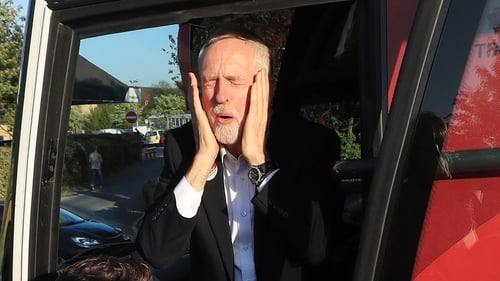 Jeremy Corbyn has said he will stay on as Labour leader regardless