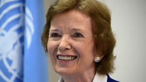 Mary Robinson says US will become 'a rogue state' if it pulls out of the Paris climate change agreement