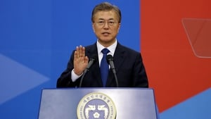 Moon Jae-in begins five-year term as South Korean president