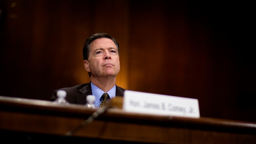 James Comey was in LA when news of his dismissal came through