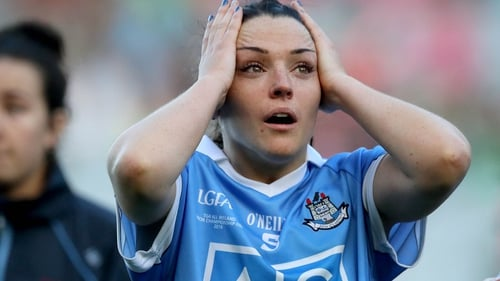 Sinéad Goldrick is up for the Players' Player of the Year award
