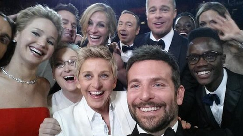The star studded selfie was the most retweeted ever - until recently that is