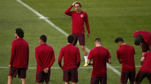 Antoine Griezmann and his team-mates face an uphill battle