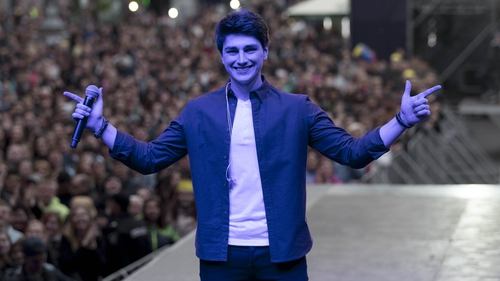 "Brendan Murray is feeling ""very confident"" ahead of performing for Ireland in the second Eurovision semi-final on Thursday"