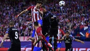 Saul Niguez scores for Atletico
