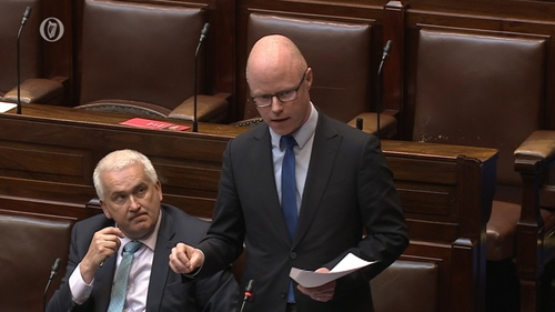 Stephen Donnelly said that closing screening services has meant that around 170,000 screenings have not happened(file pic)