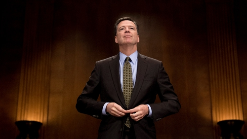 Former FBI chief James Comey was fired on 9 May
