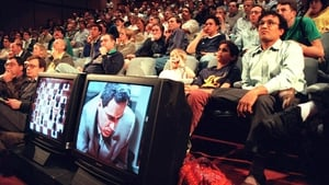 Chess fans watch progress of the first game between World Chess Champion Garry Kasparov and the IBM Deep Blue computer