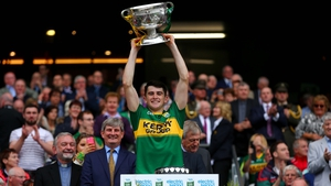 Mark O'Connor captained Kerry to the 2015 All-Ireland minor title
