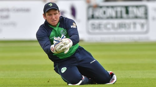 Gary Wilson missed the series against Afghanistan after being diagnosed with an eyesight problem.