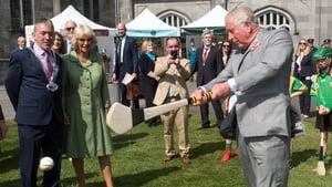 Prince Charles gave a sliotar a bash following a demonstration by former Kilkenny All-Star Henry Shefflin