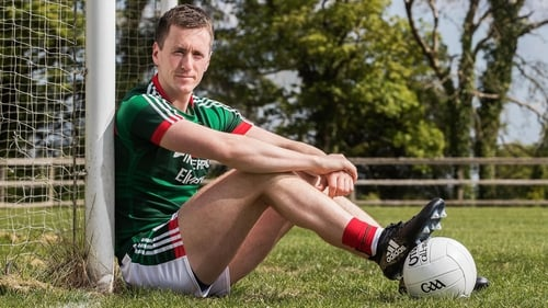 Cillian O'Connor at the launch of the 2017 Connacht Senior Football Championship
