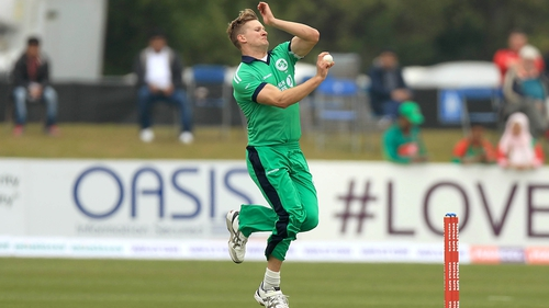 Barry McCarthy starred for Ireland