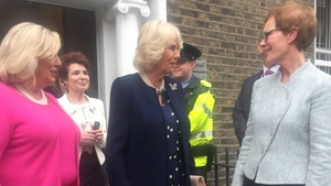 Camilla meets staff at the Rape Crisis Centre in Dublin (Pic: Rape Crisi Centre)