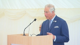 Prince Charles at the British Ambassador's Residence